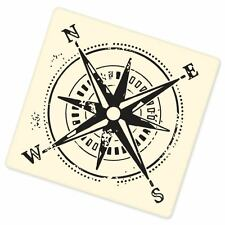 "Compass hiking vinyl window bumper sticker 4"" x 4"""