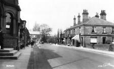 Burley Nr Leeds or Wharfedale unused RP old postcard WAlter Scott Good condition