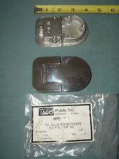Taco Hatch Hinge, Stainless Steel, Round / Square H50-4003 / HF 16-4 Yacht Hinge