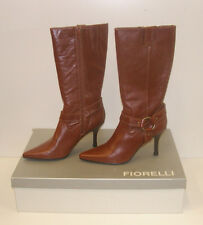 FIORELLI WOMENS POINTY WINTER BOOTS TAN 9.5 LEATHER LADIES MATANA WSK rrp$279.95