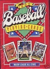 BASEBALL PLAYING CARDS 1991 IN MANUFACTURERS SHRINK WRAP ABSOLUTELY COLLECTIBLE