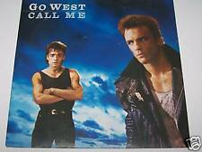 """Go West - Call me / The Man in my Mirror - 1985 7"""""""