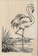 """""""Flamingo"""" Rubber Stamp by Stampendous"""