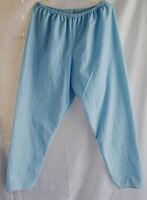 Women's long pajama pants no.vt06 blue size L