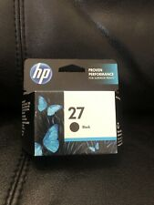HP ink 27 black genuine C8727AN BRAND NEW EXP 01/14