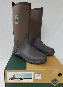 New Men's Muck Edgewater Tall Classic Boots ECH 900 Brown