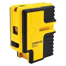 STANLEY SPL3 Self Leveling 3-Point Laser Level/Plumb +Mount BRAND NEW -STHT77342