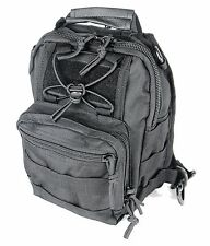 Small Compact Sling Bag Back Pack Hiking Day Pack Camera Bag Black