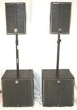 HK Audio Linear 3 Lautsprecher Set: 2 x Bass und 2 x Top Tonanlage