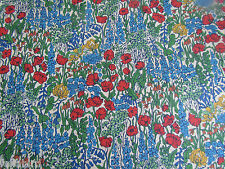 "Liberty of London Tana Lawn Tissu Design ""TINY poppytot"" 1 mètre (100 cm)"