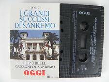 I GRANDI SUCCESSI DI SANREMO VOL. 2 Le più belle canzoni di OGGI MC Musicassetta