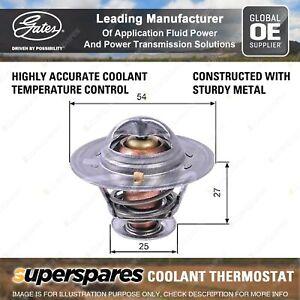 Gates Coolant Thermostat + Gaskets & Seals for Fiat Ducato 230 244 2.8L