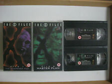 2 x X FILES VHS VIDEOS. File 1:The Unopened File / File 6:Masterplan.Cert 12/15.
