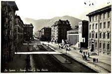 Cartolina Fotografica Formato Piccolo - La Spezia - Piazza Verdi E Via Chiodo Vi