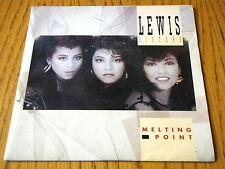 """LEWIS SISTERS - MELTING POINT  7"""" VINYL PS"""