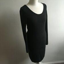Clements Ribeiro Grey Cashmere Blend Dress 8