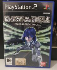 SONY PS2 GHOST IN THE SHELL STAND ALONE COMPLEX, ITALIANO COME NUOVO SONY BANDAI