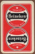 Playing Cards 1 Single Card Old Dutch Brewery HEINEKEN BEER Advertising Art 1