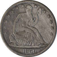 1859-O Seated Half Dollar Great Deals From The Executive Coin Company