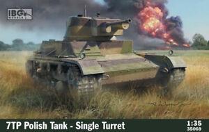IBG 35069 7TP Polish Tank - Single Turret scale 1/35
