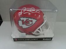 Patrick Mahomes Kansas City Chiefs Autographed Signed Riddell Mini Helmet W Coa