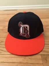 Detroit Tigers MLB Vintage Authentic New Era Diamond Collection Road Hat