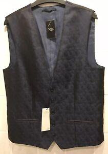 NEXT Men's Waistcoat Size 40 LONG BNWT RRP £40 Bargain Just £10 Opening Bid