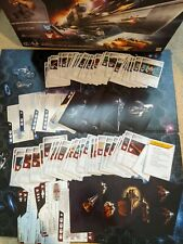 Hasbro Battleship Galaxies Game Replacement Parts Cards Tiles Stand