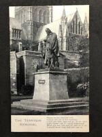 Vintage Real Photo Postcard #TP1075: The Tennyson Memorial
