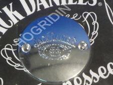 Jack Daniels chrome timer cover Harley softail touring shovelhead fxr dyna flht