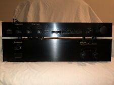 PARASOUND HCA-500 HIGH CURRENT POWER AMPLIFIER And P/hp750ii Pre-amp Stack.nice