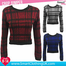 Crew Neck Cropped Medium Jumpers & Cardigans for Women