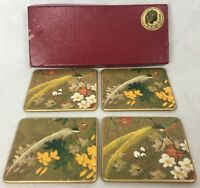 Lady Clake Made In England Vintage Coasters Breads Among Flowers