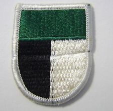 ARMY BERET FLASH  & OVAL SET- 1st SPECIAL OPERATIONS COMMAND
