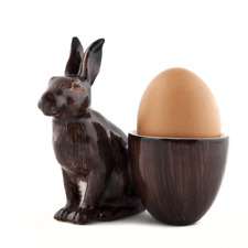 Quail Ceramics Hare With Egg Cup 349