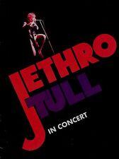 JETHRO TULL 1975 WAR CHILD U.S. TOUR CONCERT PROGRAM BOOK / NEAR MINT 2 MINT