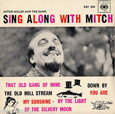 MITCH MILLER Sing Along With EP 1960's Mono