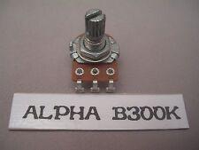Alpha Mini Pot 300K  Linear Taper B,For Guitar, Amp, Elect Equip Etc.- Fast Ship