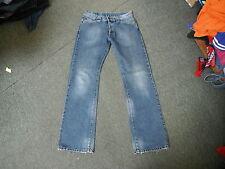 "Voi Jeans Straight Jeans Waist 34"" Leg 35"" Faded Dark Blue Mens Jeans"
