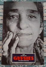 GYPSIES THE HIDDEN AMERICANS BY ANNE SUTHERLAND 1975 1ST EDITION GIPSY BOOK