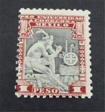 nystamps Mexico Stamp # 704 Mint Og H $350 U4y590