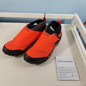 Giro Terraduro Mid Cycling Shoes, EU 43 US mens 9.5 ORANGE / BLACK NEW