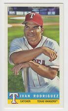 IVAN RODRIGUEZ 2017 Topps Archives Baseball 1959 Bazooka #59B-2 Rangers