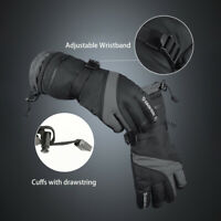 Waterproof Winter Thermal Ski Gloves Touchscreen Warm Snowboard Hiking -40℉ US