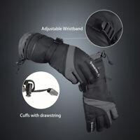Waterproof Winter Thermal Ski Gloves Touchscreen Warm Snowboard Hiking -40℉ US