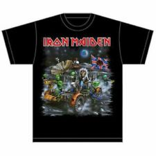 IRON MAIDEN Knebworth Moon Buggy Mens T Shirt Unisex Tee Official Band Merch