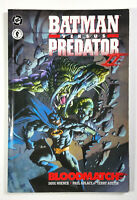 Batman versus Predator II Bloodmatch (1995) Dark Horse Comics TPB