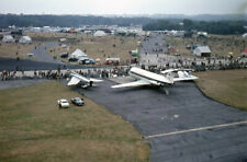 original 35mm Aircraft slide   G-ASUE BAC 1-11 ect SBAC Farnborough Sept 1964