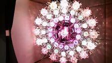 VINTAGE CHRISTMAS 49 LIGHT TRIPLE RING TREE TOP