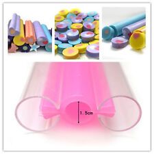Small Round Tube Pipe Silicone Soap Moulds Making Tools Craft Cutter Molds